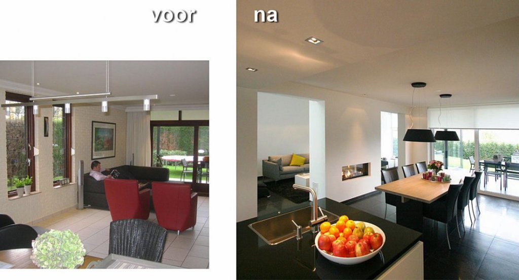 De 6 mooiste make overs blog for Huis voor na exterieur renovaties